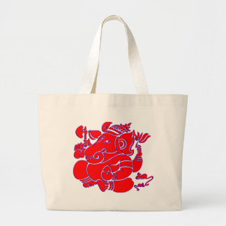 Vector Abstract Lord Pitambara Large Tote Bag