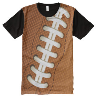 Vector American football All-Over Print T-Shirt