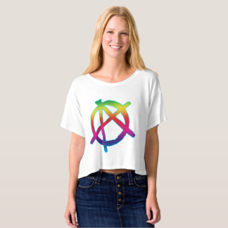 Vector  Anarchy Symbol T-Shirt