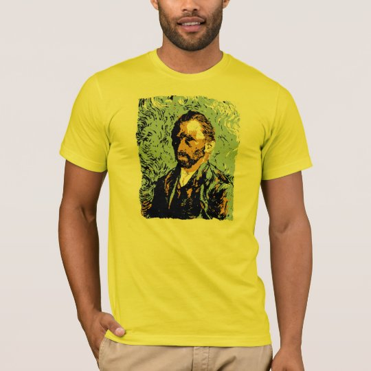 Vector Art Vincent Van Gogh Portrait T-Shirt