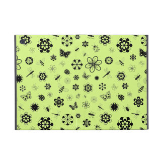 Vector Bugs & Flowers (Grass Green) Cases For iPad Mini