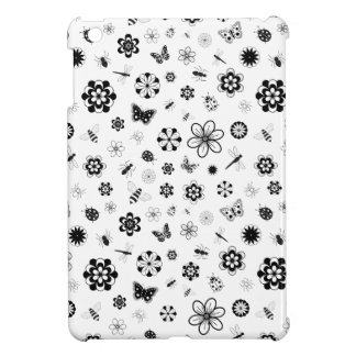 Vector Bugs & Flowers Cover For The iPad Mini