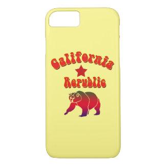 Vector California Republic Hippy Text iPhone 7 Case