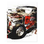 vector car 3.jpg postcard