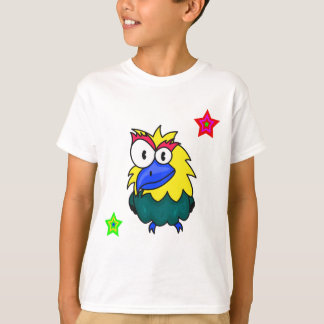 Vector  Cartoon Bird T-Shirt