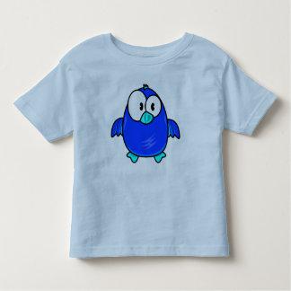Vector  Cartoon Bird Toddler T-Shirt