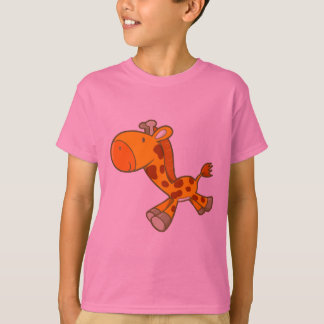 Vector Cartoon  giraffe T-Shirt