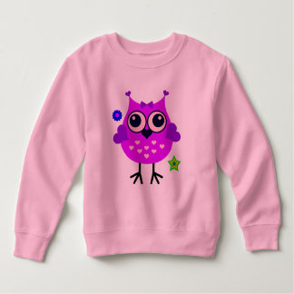Vector  Cartoon Owl Sweatshirt