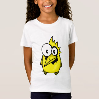 Vector  Cartoon yellow Bird T-Shirt