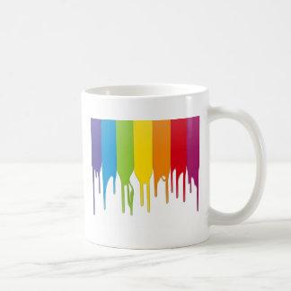Vector Color Paint Basic White Mug