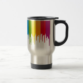 Vector Color Paint Coffee Mugs