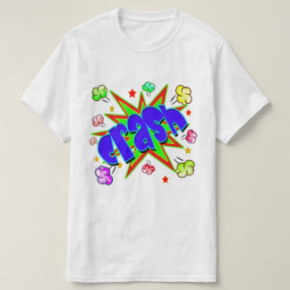 Vector Comic book Crash T-Shirt