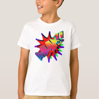 Vector Comic Book WHAM!! T-Shirt