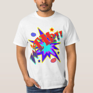 Vector Comic Book What The Hell T-Shirt