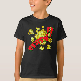 Vector - Comic sound effect crash T-Shirt