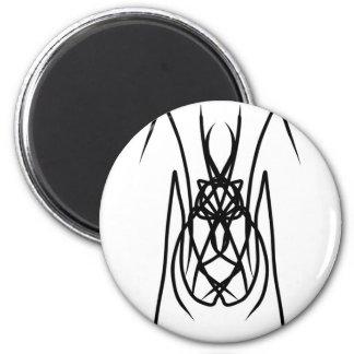 """Vector Design """"Spider"""" 6 Cm Round Magnet"""