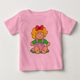 Vector doll  illustration baby T-Shirt
