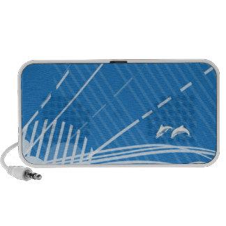 Vector Dolphins - Doodle speakers