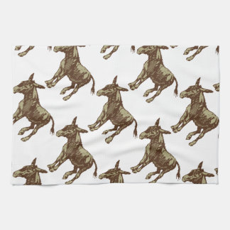 Vector Donkey Tea Towel