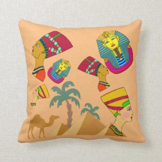 Vector Egyptian Throw Pillow
