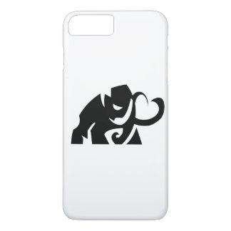 vector elephant shape i phone case