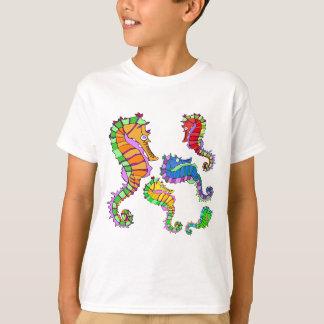 Vector  Fantasy  Seahorses T-Shirt