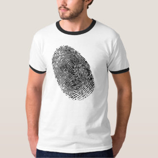 Vector fingerprint T-Shirt