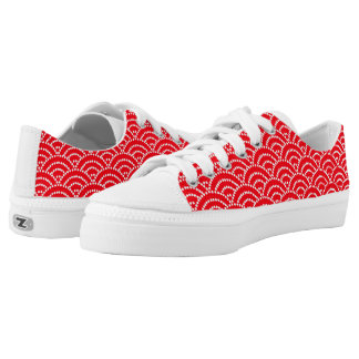 Vector Geometric design Zipz Printed Shoes