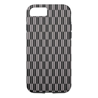 Vector Geometric Grey and black Pattern iPhone 8/7 Case