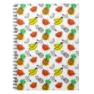 Vector Graphic Seamless Pattern Notebook