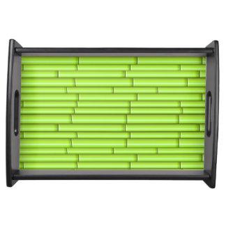 Vector Green Bamboo Serving Tray