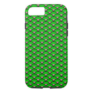 Vector Green Geometric design iPhone 8/7 Case