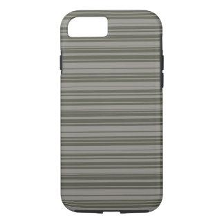 Vector Grey Stripes design iPhone 8/7 Case