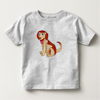 Vector happy  Dog Toddler T-Shirt