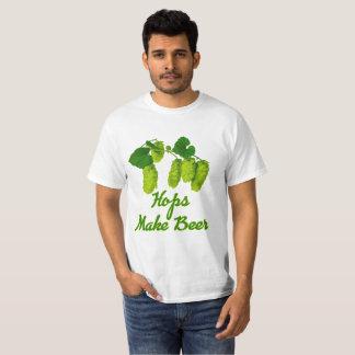 Vector Hops make Beer T-Shirt