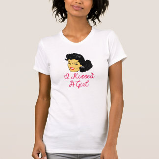 Vector I kissed A girl T-Shirt