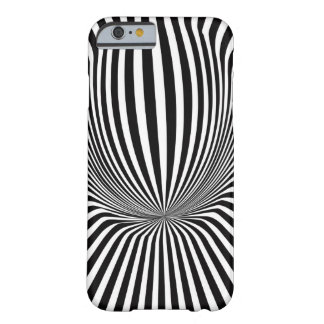 Vector Illusion Rays Barely There iPhone 6 Case