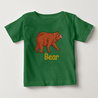 Vector illustration Bear Baby T-Shirt