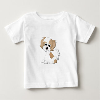 Vector illustration of a puppy baby T-Shirt