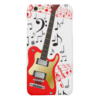 Vector Image  Electric Guitar iPhone 6 Plus Case
