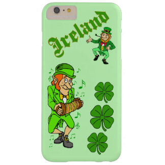 Vector - Leprechaun Clover  Ireland Barely There iPhone 6 Plus Case