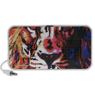 vector lion travelling speaker