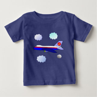 Vector Love  Aeroplane Baby T-Shirt