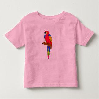 Vector -  parrot bird toddler T-Shirt