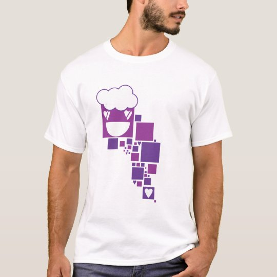 Vector Purple boxes T-Shirt