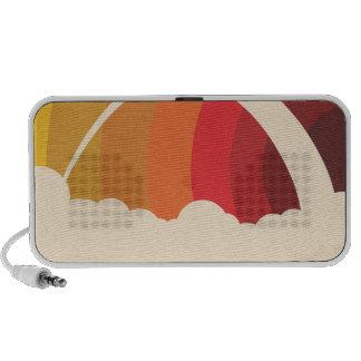 Vector Rainbow Mp3 Speakers