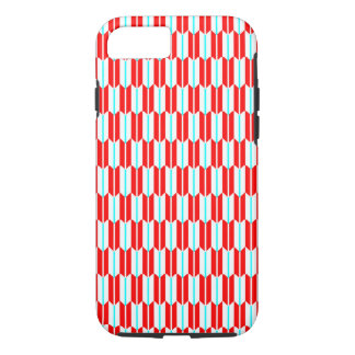 Vector Red White Blue Geometric Pattern iPhone 7 Case