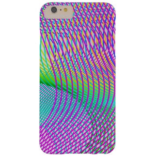 Vector Retro Curves  Line Pattern Barely There iPhone 6 Plus Case