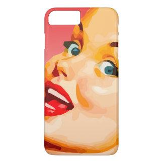 Vector Retro Lady iPhone 8 Plus/7 Plus Case