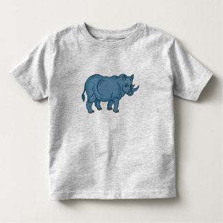 Vector Rhino Toddler T-Shirt